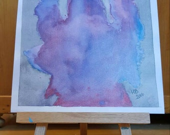 """Limited edition print of my original watercolour painting """"unbreakable"""" signed, numbered and dated"""