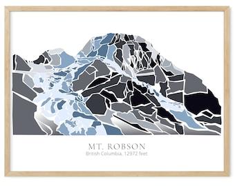 Mt. Robson British Columbia - No Lake Version