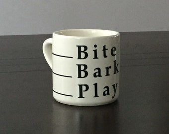 Bite Bark Play Mug