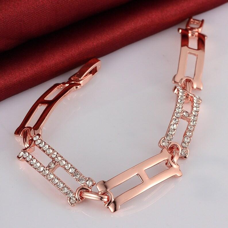 18K rose gold plated Bracelet