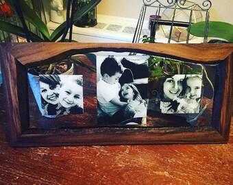 Custom resin frames