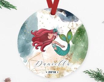 Mermaid ornament | Etsy