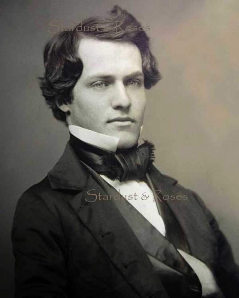 Antique Handsome Man Photo Download Instant Digital Vintage Print Etsy