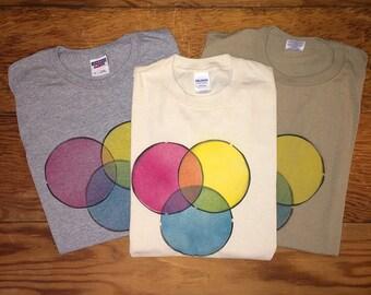 Handmade Color Wheel Shirt