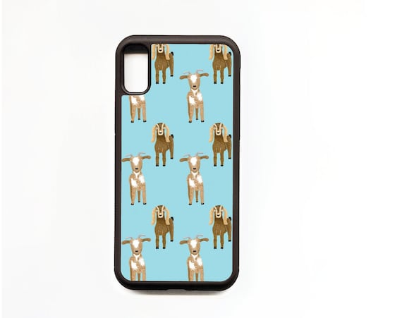 Goat Phone Case, Goat iphone Case, Illustration, Animal Phone Case, Rubber Phone Case, Plastic Phone Case