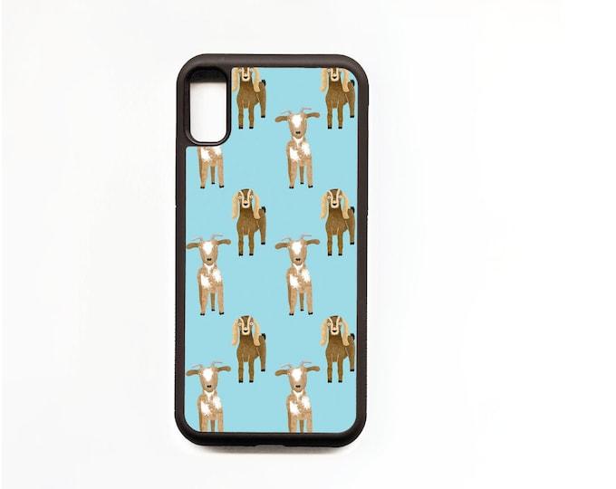 Goat Phone Case, Goat iphone Case, Animal Phone Case, Rubber Phone Case