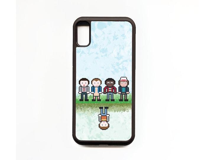 Stranger Things Fan Art Phone Case, iphone Case, Animal Phone Case, Rubber Phone Case