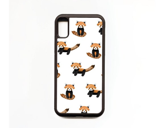 Red Panda Phone Case, Red Panda iphone Case, Illustration, Animal Phone Case, Rubber Phone Case, Plastic Phone Case