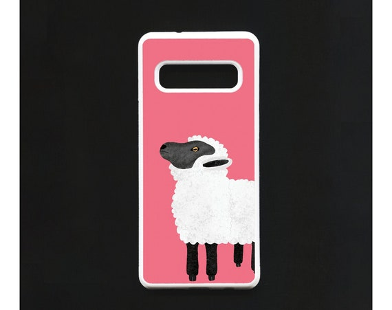 Sheep Phone Case, Sheep Samsung phone Case, Illustration, Animal Phone Case, Rubber Phone Case, Plastic Phone Case