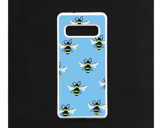 Bee Phone Case, Bee Samsung phone Case, Illustration, Animal Phone Case, Rubber Phone Case, Plastic Phone Case