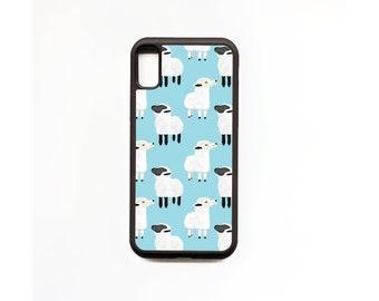Sheep Phone Case, Sheep iphone Case, Animal Phone Case, Rubber Phone Case