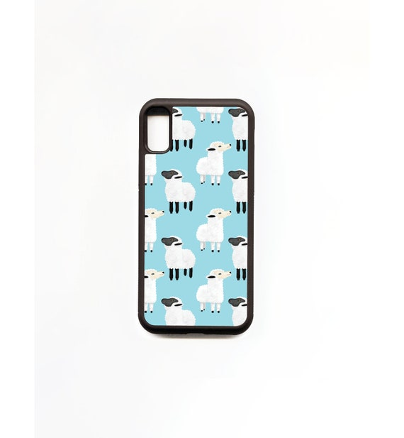 Sheep Phone Case, Sheep iphone Case, Illustration, Animal Phone Case, Rubber Phone Case, Plastic Phone Case