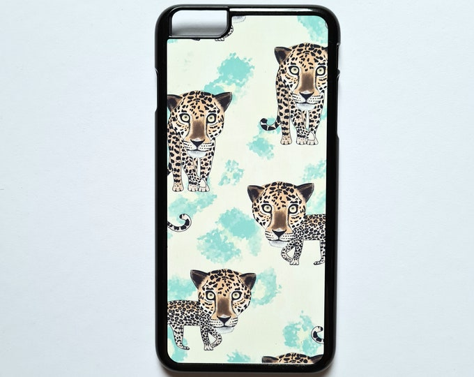 Leopard Iphone 6 plus Case, Iphone Cases Defects, as is, defect, reduced price, iphone 6 plus