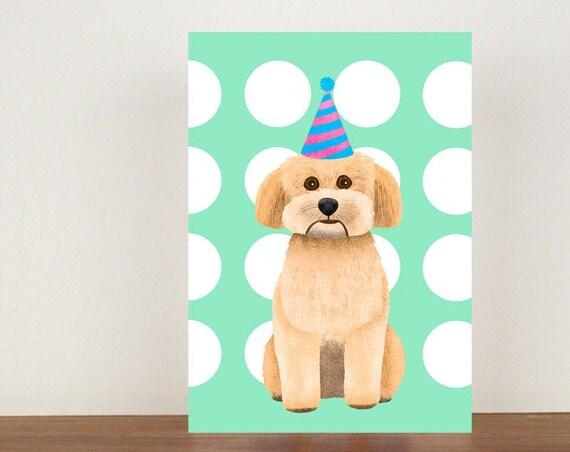 Havanese Birthday Card, Card, Greeting Card, Birthday Card, Dog Card, Dog Birthday Card, Friend Birthday Card, Havanese Birthday Card