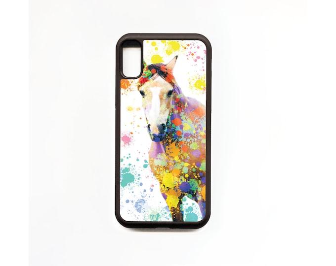 Horse Phone Case, Horse iphone Case, Animal Phone Case, Rubber Phone Case