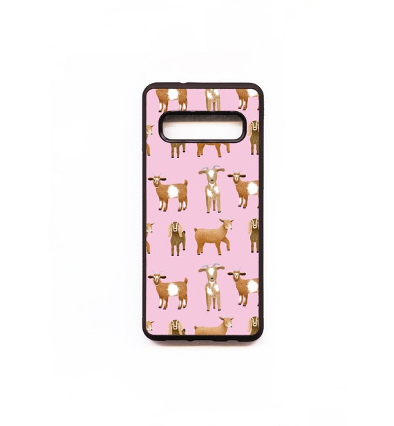 Goat Phone Case, Pink, Goat Samsung phone Case, Illustration, Animal Phone Case, Rubber Phone Case, Plastic Phone Case