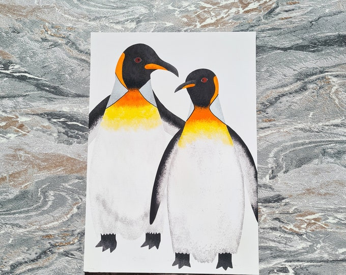 Penguin Print, A4 Print, Misprint, Seconds, As Is, Reduced Price
