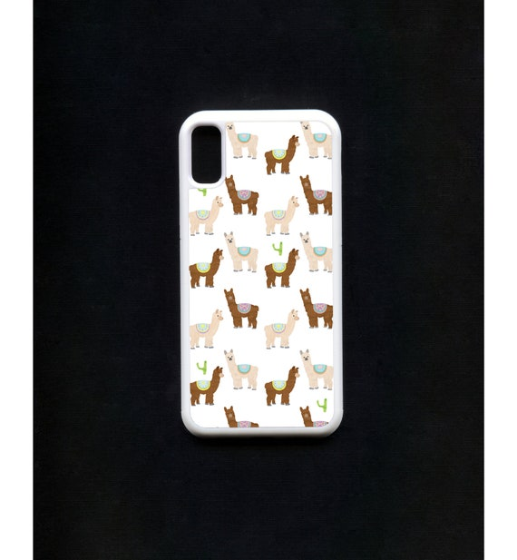 Alpaca Phone Case, Alpaca iphone Case, Illustration, Animal Phone Case, Rubber Phone Case, Plastic Phone Case