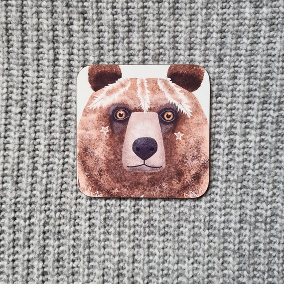 Bear Coaster, Defects, as is, defect, reduced price