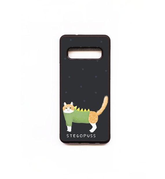 Cat Phone Case, Cat Samsung phone Case, Illustration, Animal Phone Case, Rubber Phone Case, Plastic Phone Case