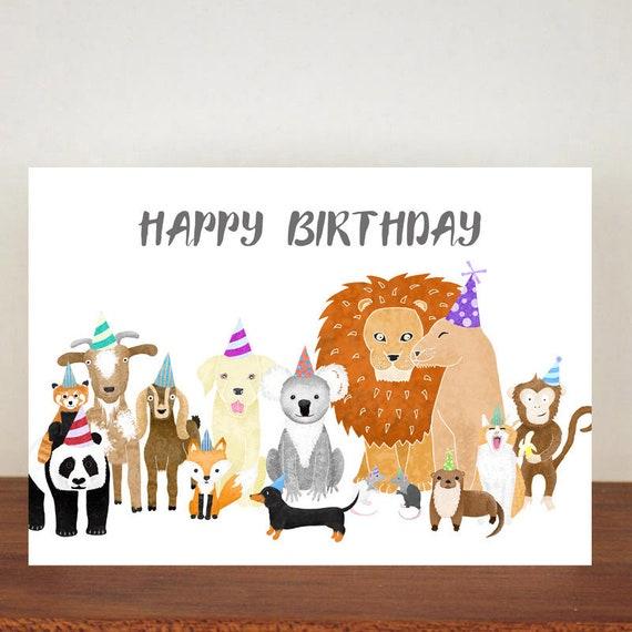 Happy Birthday Card Greeting