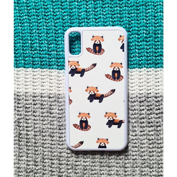 Red Panda Iphone X Case, Iphone Cases Defects, as is, defect, reduced price, iphone X