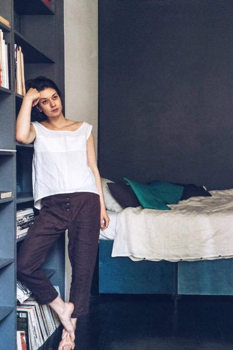 Linen sleepwear Linen pyjama set Linen pyjamas Linen clothing Linen loungewear Linen PJ/'s set Linen pyjama set Linen pyjamas