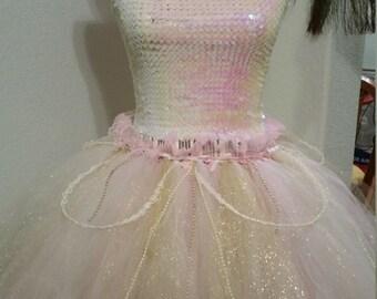Fairy Queen/Glinda the good witch tutu skirt