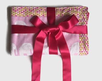 Baby Sleeper Blanket, Toddler Quilt, Crib Blanket For Girl, Baby Play Mat, Travel Blanket, Baby Picnic Throw, Security Blanket, Blankie