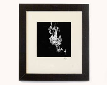 Self-Immolation I - Original Photograph - Silver Gelatin Print
