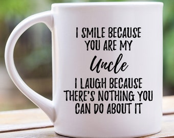Uncle Gift For Mug Birthday Cup From Niece Brother Mugs With Sayings Funny Coffee