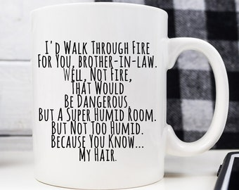 Brother In Law Mug Gift Gifts For Birthday Wedding Future
