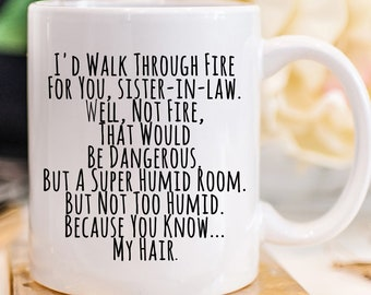 Future Sister In Law Gift Gifts For Coffee Mug Birthday Wedding