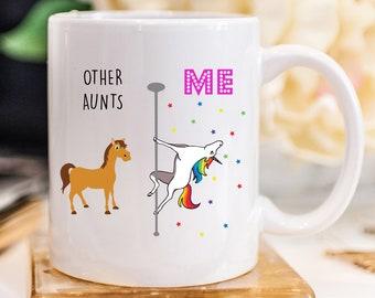 Unicorn Mug Aunt Gift For Auntie Gifts Birthday Coffee From Niece Nephew 832