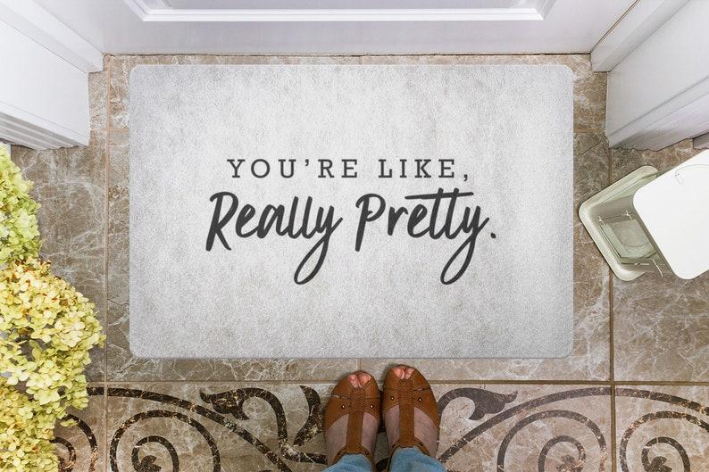 door mat doormat welcome mat housewarming gift you\u0027re like etsyimage 0
