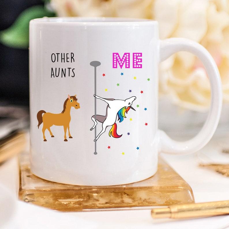 Gift for Aunt Aunt Cup Aunt Gift Aunt Mug Unicorn Auntie Mug
