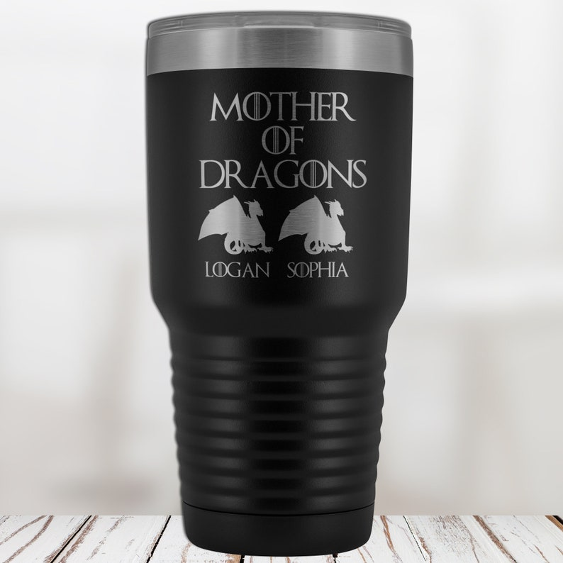 1288551e75b Mother of Dragons Tumbler Mothers Day Gift from Daughter Mom | Etsy