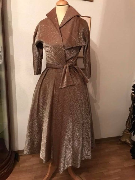 50s Lurex Cannady Creations Hollywood Cocktail Dre