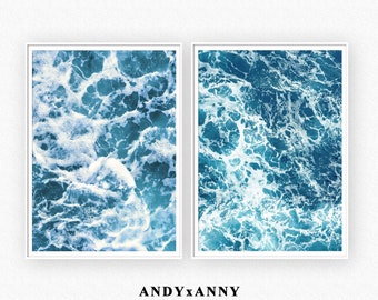 ef244da0997 Set of 2 Ocean Prints