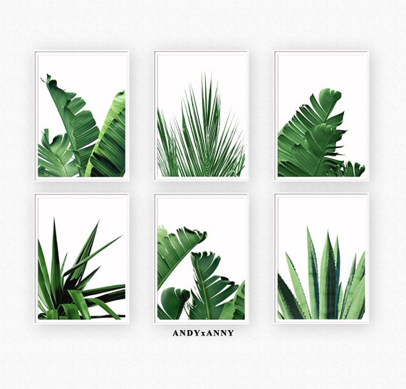 image relating to Palm Leaf Printable referred to as Tropical Leaves Preset of 6 Prints, Botanicals Prints, Banana Leaf, Printable Wall Artwork, Palm Leaf Print Established of 6, Electronic Prints, Wall Artwork Established
