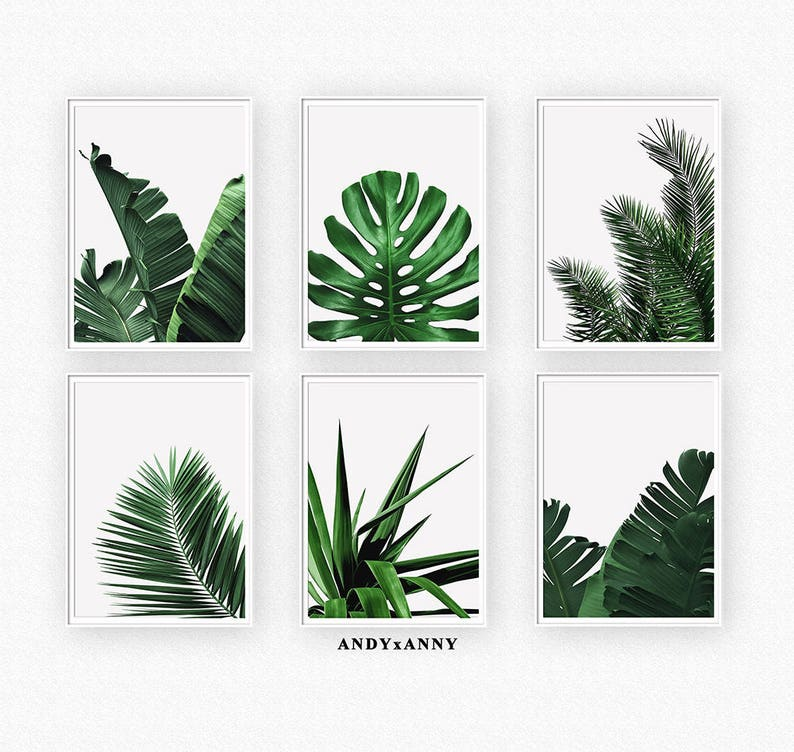 photo about Palm Leaf Printable referred to as Palm Leaf Print Preset, Leaves Printable, Preset of 6 Prints, Minimalist Artwork, Tropical Print, Banana Leaf, Electronic Down load, Inexperienced Foliage Print