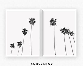 Palm Print, Tropical Print, Palm Tree Print, Digital Download, Printable Poster, Palm Tree, Tropical Decor, Tropical Wall Art, Nature Prints