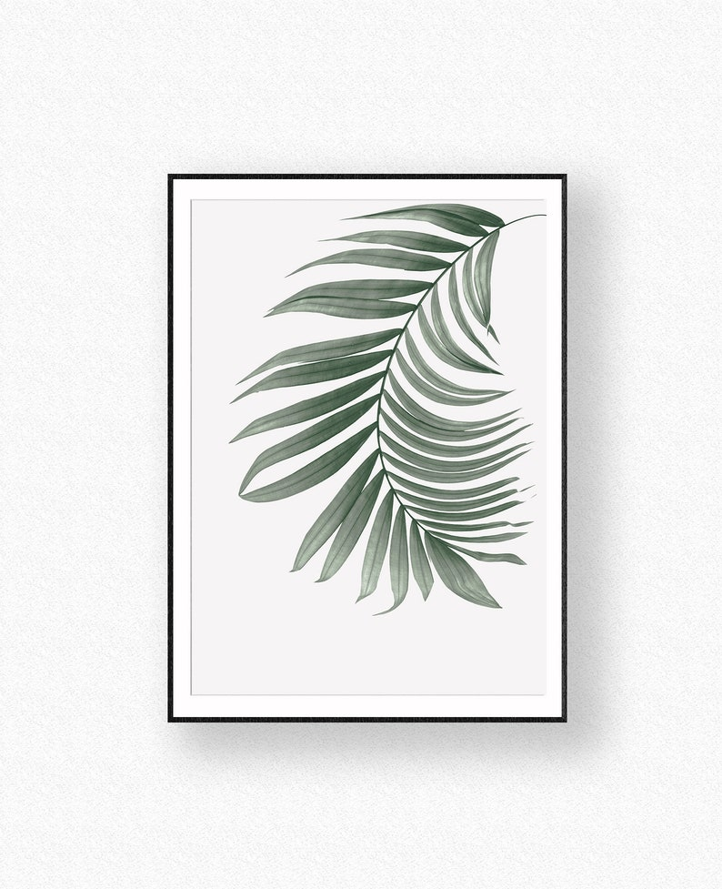 picture about Palm Leaf Printable titled Palm Leaf, Printable Artwork, Wall Artwork, Tropical Print, Plant Prints, Botanical Artwork, Tropical Leaf, Leaf Print, Palm Tree Decor,Leaves Prints