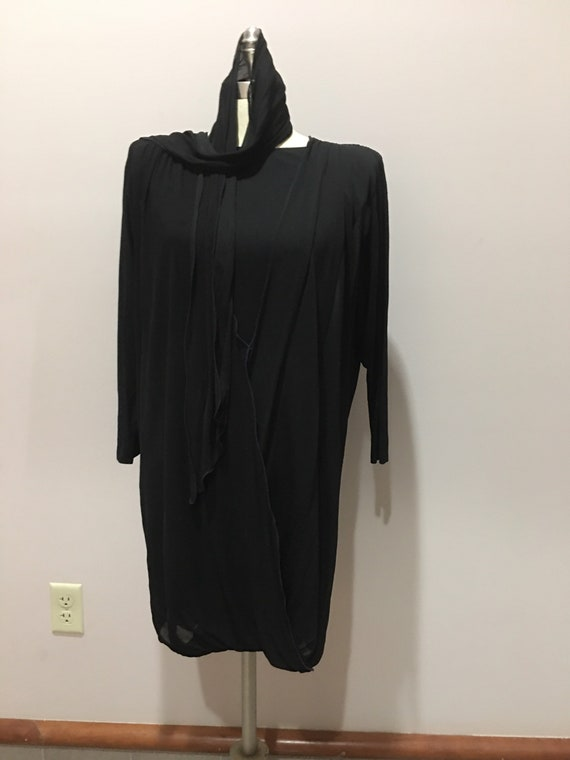 Vintage Holly Harp chiffon dress.