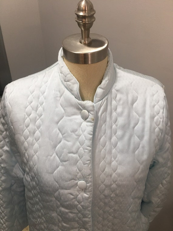 "Vintage Women""s Quilted Robe."