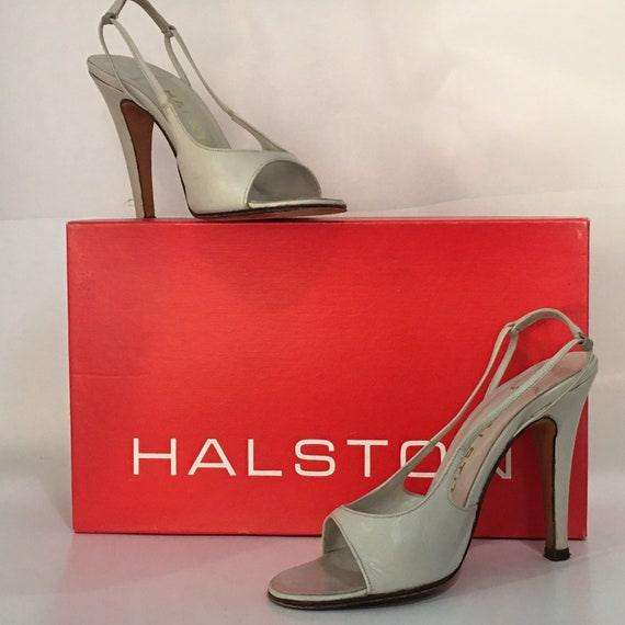 Vintage HALSTON  Heels.