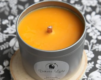 Orange and Chili Pepper Soy Candle
