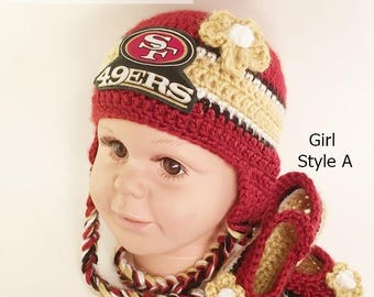 4311d8085 Baby 49ers hat | Etsy