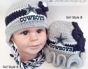 Dallas cowboy crochet hat  50a5a4f769de