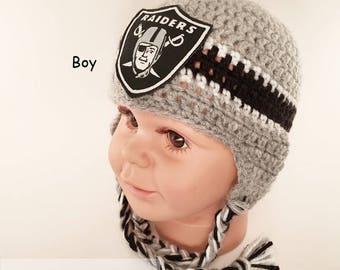 7af86ca0281 Raiders baby hat